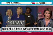 Clinton aims to keep GOP on the defensive
