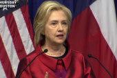 2016 GOP hopefuls take hit at Hillary