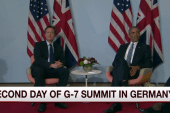Final day of G-7 begins in Germany