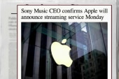Apple to make major announcement Monday