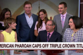 'American Pharoah' owners drop by Morning Joe