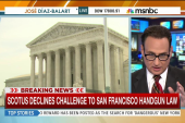 SCOTUS declines challenge to SF handgun law
