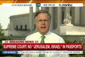 SCOTUS: No 'Jerusalem, Israel' in passports
