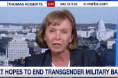 Vet hopes to end transgender military ban