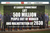 G7 leaders pledge to help world's poverty