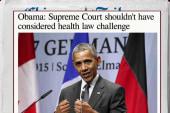 Obama takes a whack at SCOTUS again
