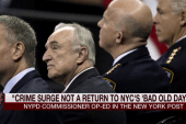 NYPD commissioner: No 'bad old days' for NYC