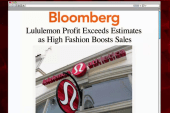 Lululemon bounces back in a big way