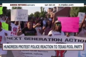Cop response to TX pool party sparks protest