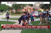 TX police officer in pool party video resigns
