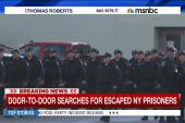 Door-to-door search for NY prisoners...