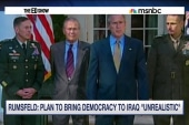Rumsfeld backtracks Iraq comments