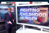 'Kid President' helps fight child hunger