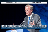 Jeb Bush defends views on public shaming