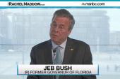 Awkward stumble for Jeb Bush in Poland