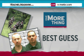 Searchers follow best Guess in prison manhunt