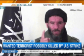Wanted terrorist possibly killed by US strike