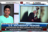 Archbishop resigns amid abuse claims