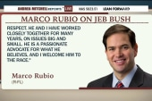 Rubio welcomes Bush to campaign trail