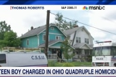 Teen charged in Ohio quadruple homicide
