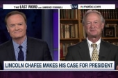 Chafee: Dems need a candidate who opposed war