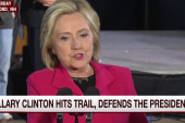 Hillary drives home her point on wealth talk