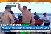 NC beach open after shark attacks