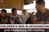 Child fighters battle Taliban in Afghanistan