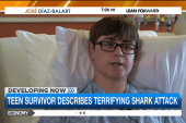 Shark attack victim speaks out for first time