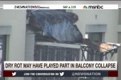 Did dry rot play a part in balcony collapse?