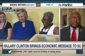 Hillary Clinton brings economic message to SC
