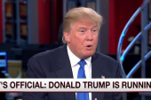 Donald Trump: The country is doing terribly