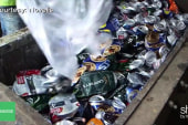 Making aluminum cans environmentally-friendly