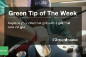 Green Tip: Out with the charcoal grill