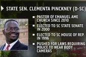 Pinckney was what 'leadership was all about'