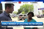 Niece of shooting victim: 'An eye for an eye'