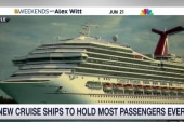 New cruise ships expected to hold more guests