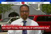 What will happen with the Confederate flag?