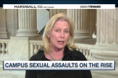 Campus sexual assaults on the rise