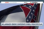 Calls to remove Confederate symbol across...