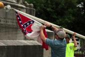 Confederate flag no longer flies in Alabama