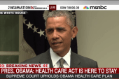 Obama: Affordable Care Act is here to stay