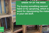 Green Tip: Upcycle unused materials