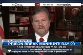Prison break manhunt: Day 20