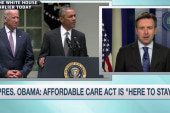 President reacts to SCOTUS Obamacare ruling