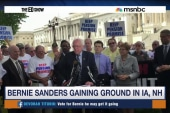 Polls show Bernie-mentum in early states