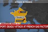 Deadly attack at French gas factory: report