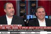 Marriage plaintiff: Our son won't know...