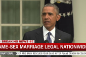 President Obama: This is a victory for...