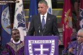 Obama hits the right notes in Pinckney eulogy